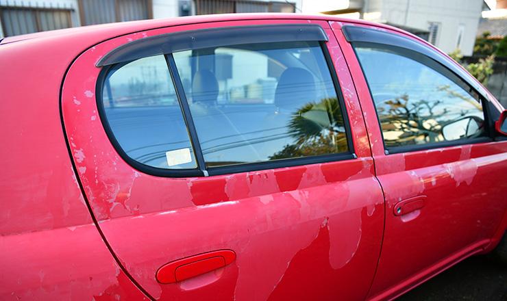 紫外線が車に与える悪影響